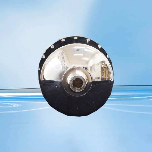 AquaSafe 45023 Shower Filter - Chrome without Rose-700